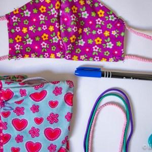 Mondkapjes maken naaien 1
