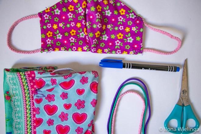 Mondkapjes zelf maken naaien 1