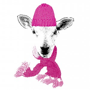 Celebratingsheep-print