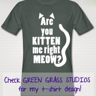 Are you kitten me T-shirt ontwerp - Check meer t-shirt ontwerpen in mijn Spreadshirt Shop http://751188.spreadshirt.nl/