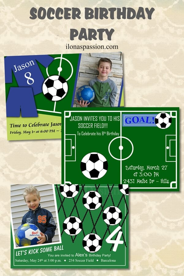 Soccer birthday party ilonas passion planning soccer birthday party ive got popular soccer birthday invitations that are printable filmwisefo