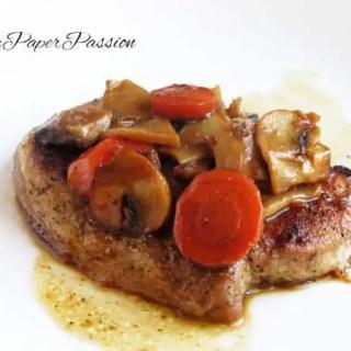 Pork with Mushrooms & Carrots