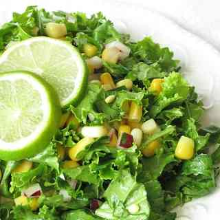 Corn and Kale Salad