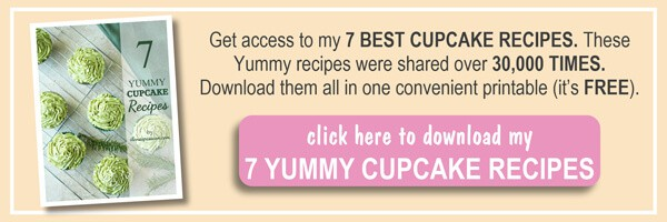 Subscribe and GET 7 Best Cupcake Recipes Ebook by ilonaspassion.com I @ilonaspassion