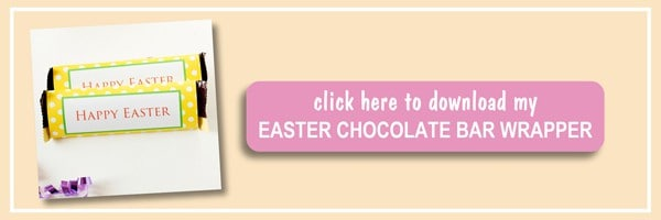 free printable easter chocolate bar wrapper get your free printable easter chocolate bar wrapper in