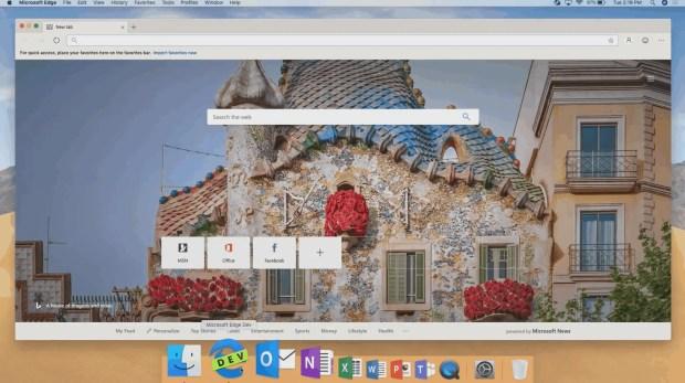Microsoft Edge for macOS