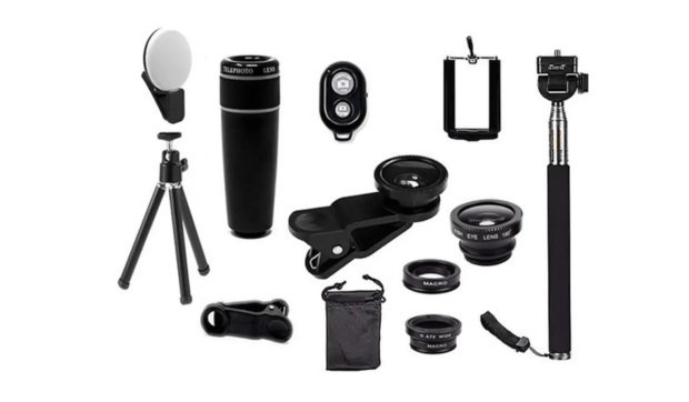 11-in-1 Smartphone Photography Accessory Bundle