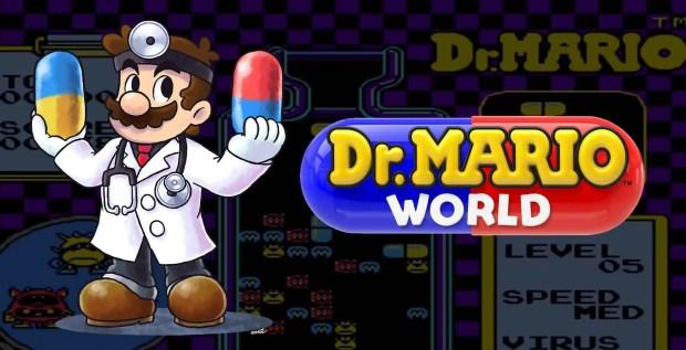 Dr. Mario World Game iOS