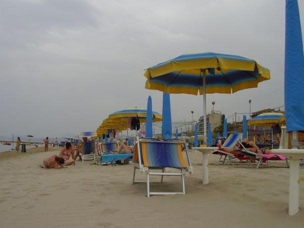 marche pláže