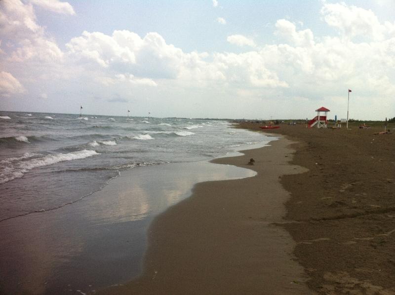 moře v benátském zálivu