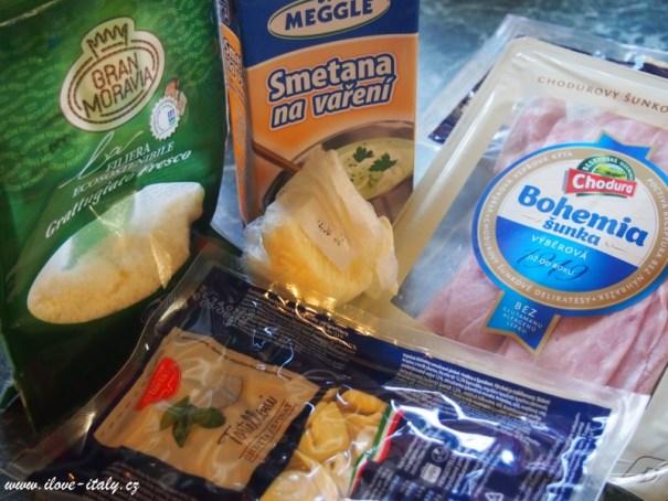 ingredience sýr gran moravia