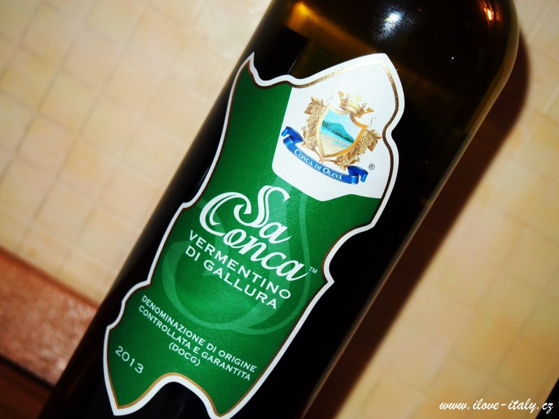 sardské víno