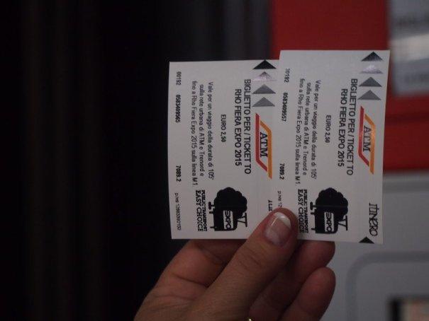 lístky na expo metro