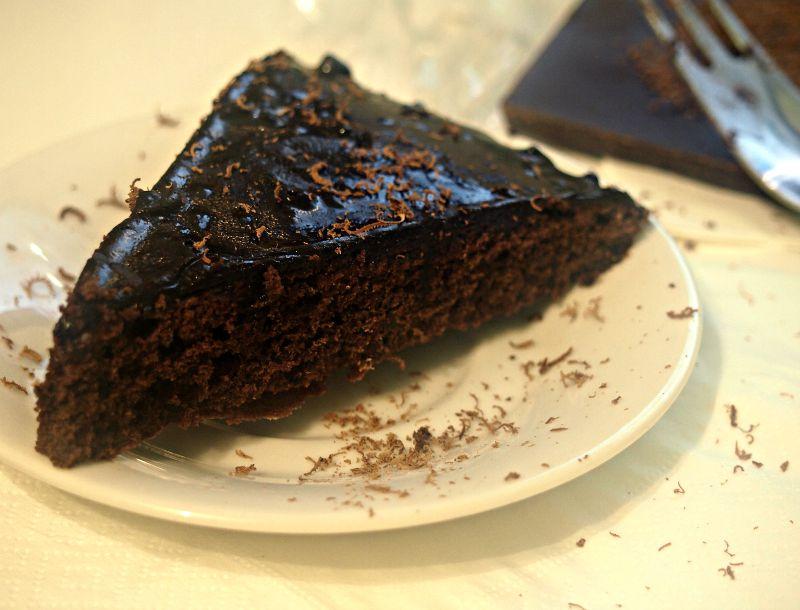 domácí dort čokoláda