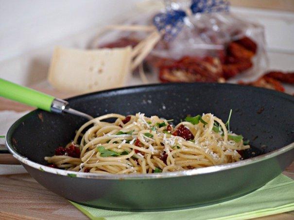recept sušená rajčata a parmezán