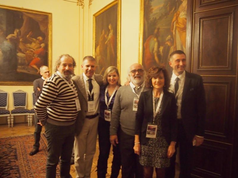 nějaké to focení s organizátory akce a prezidentem provincie Trentino