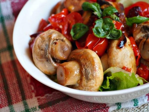 italský salát cherry rajčata