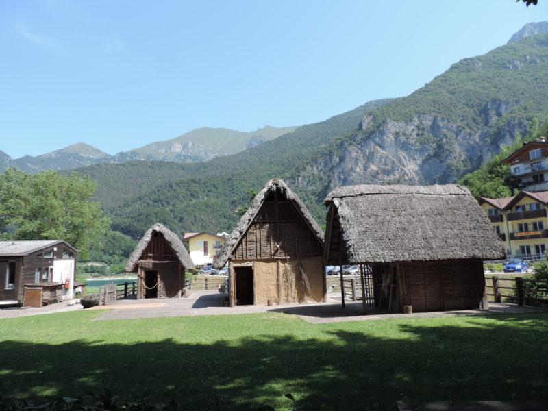 jezero Lago di Ledro - Museo delle Palfitte