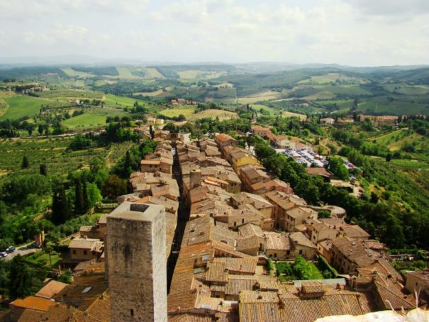 san gimignano toskánské víno