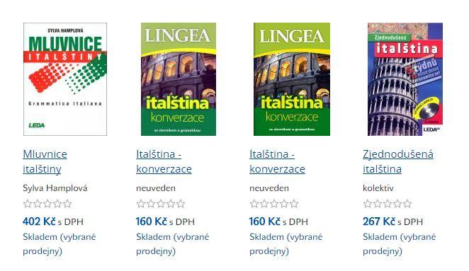 dobrovky-knihy-italstina