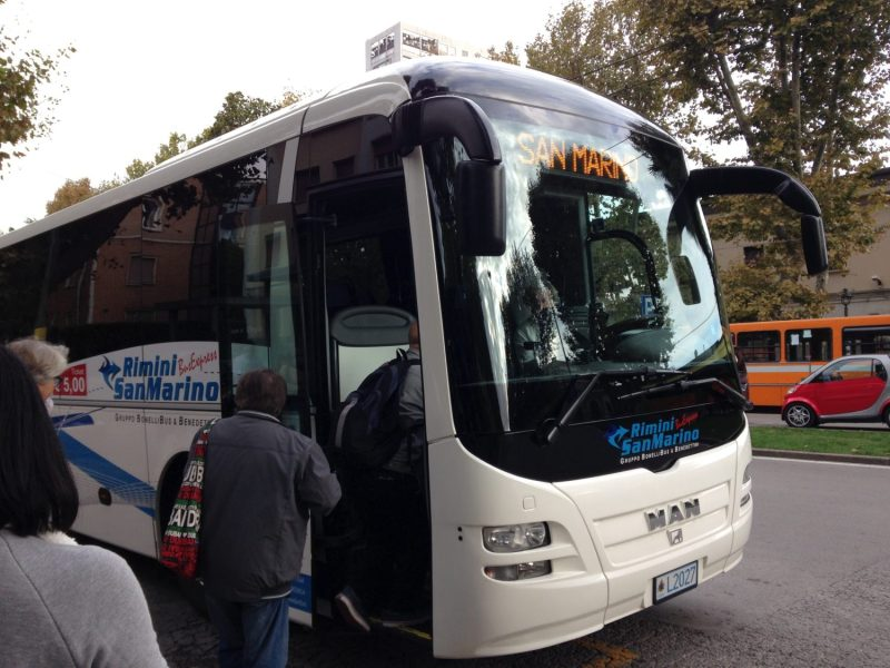 autobus do san marina