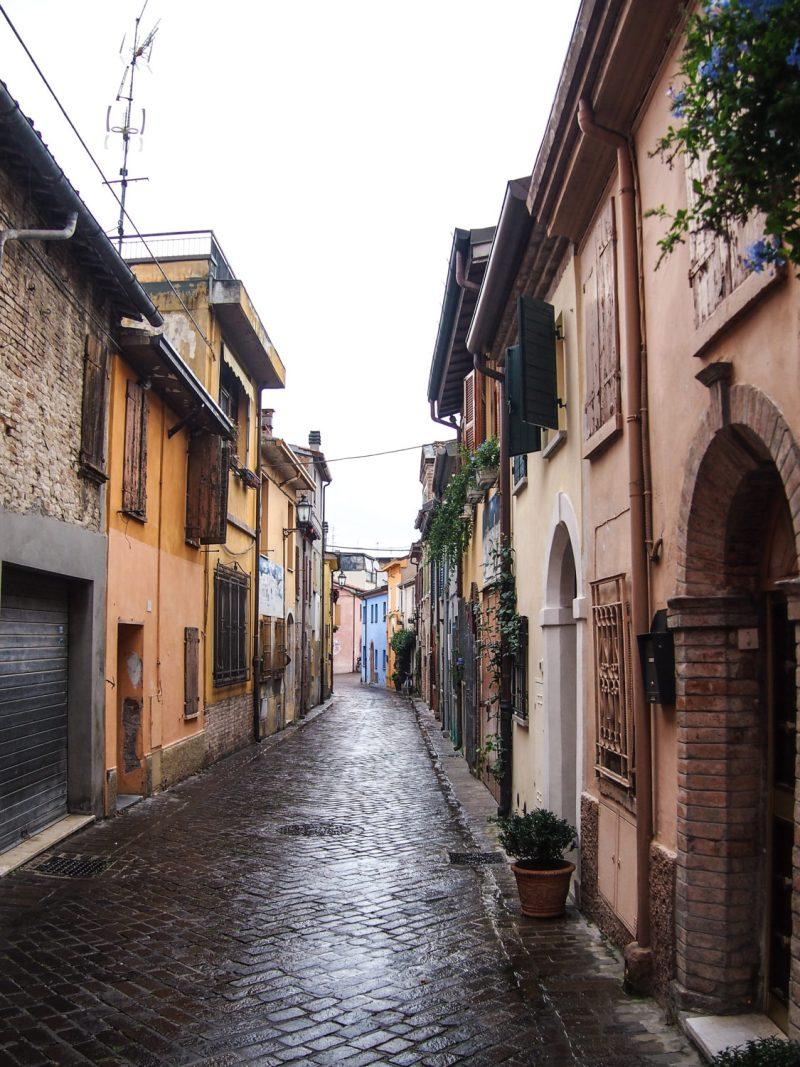 památky itálie rimini