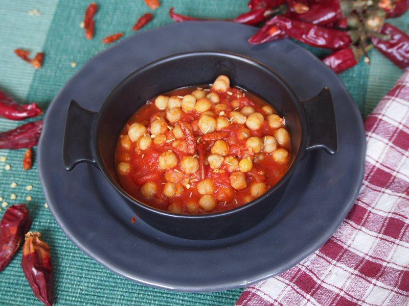 cizrna s chilli papričkami