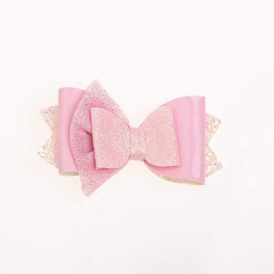 Τσιμπιδάκι, κλιπ, γκλίτερ, λουστρίνι, τούλι, ροζ