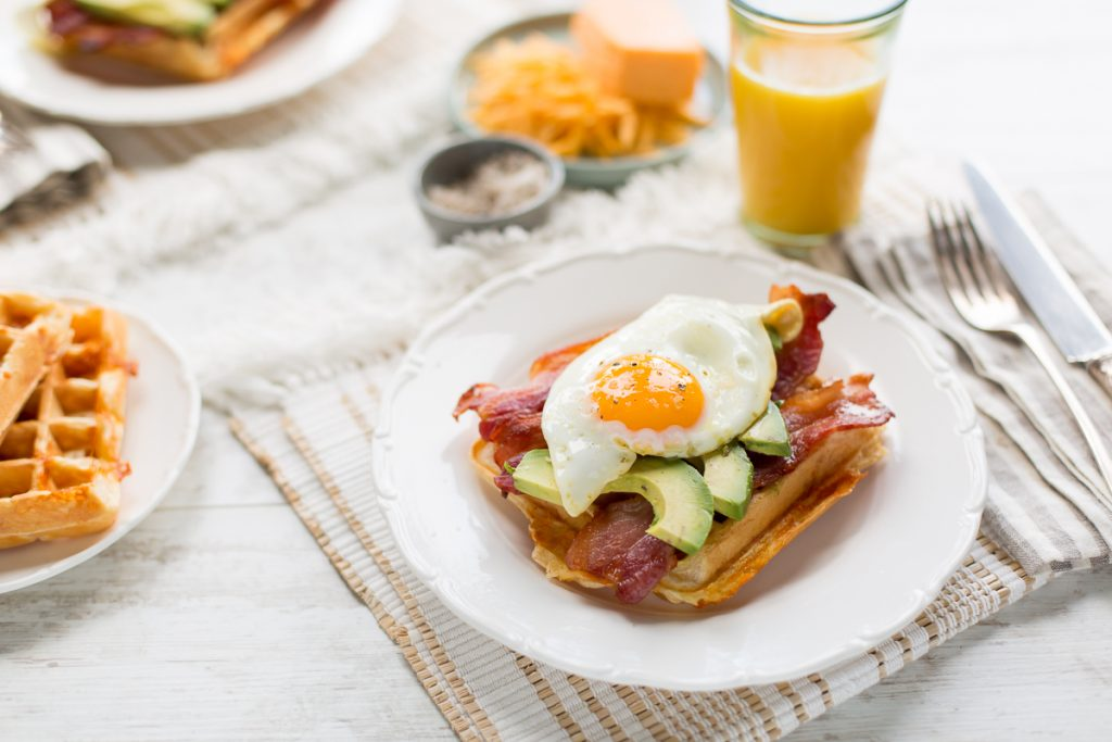 Dubliner Cheesy Waffles, Brunch recipe, I Love Cooking