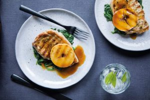 Pork Chops with Toffee Apple, Brian McDermott, Donegal Table, Pork recipes, I Love Cooking Ireland