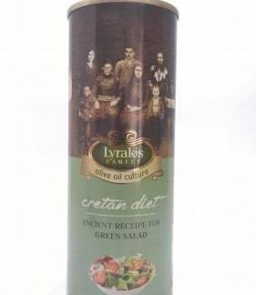 """Cretan diet"" Olive oil for green salad, 500 ml."