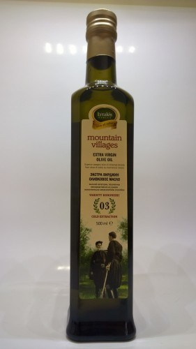 Lyrakis olive oil 500 ml.