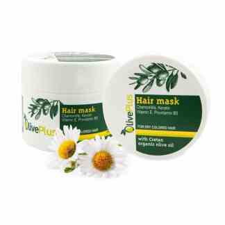 Hair mask for dry, coloured hair 200ml. - www.ilovecrete.eu