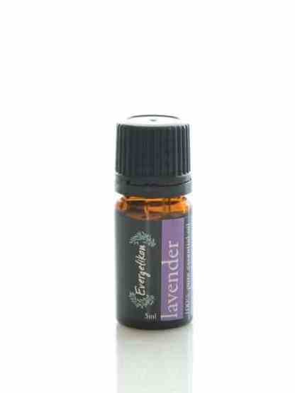 100% pure and natural lavender essential oil for aromatherapy 5ml.