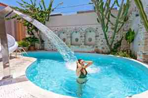 Pool Thalassa Boutique Hotel, Rethymno Town - Crete - Greece
