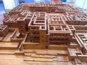 Wooden model of Knossos