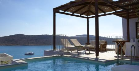 Family Suite Sea View with Private Pool Domes of Elounda