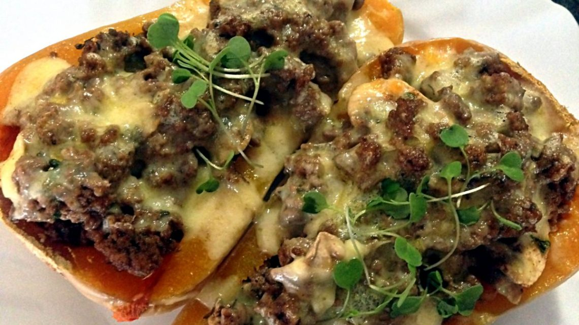 Mince-Stuffed Butternut Recipe