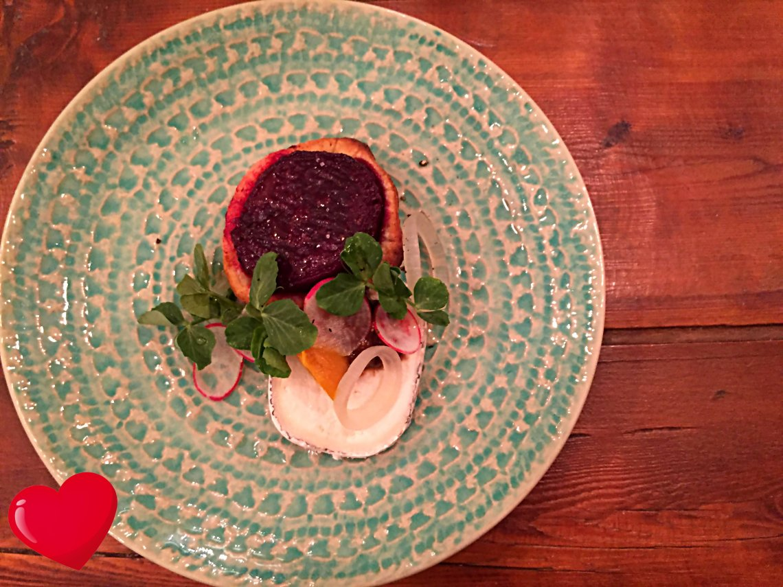Reverie Social Table Beetroot and Goat's Cheese