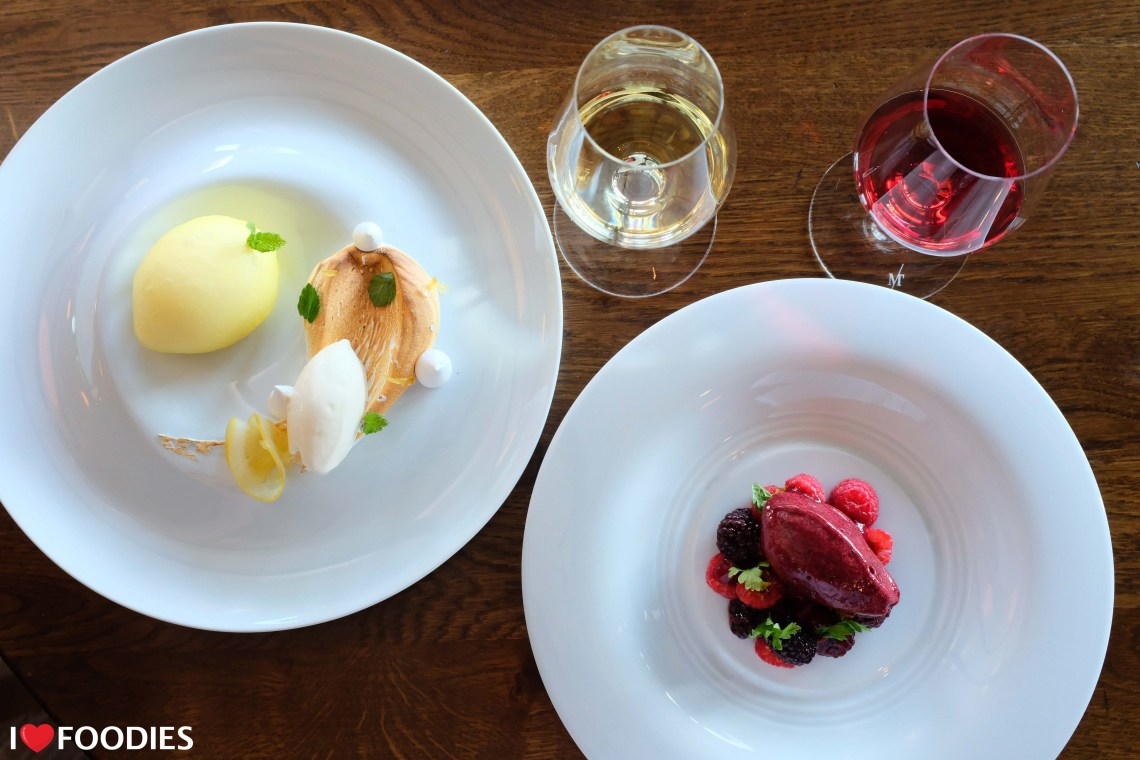 Oxford Blue dessert