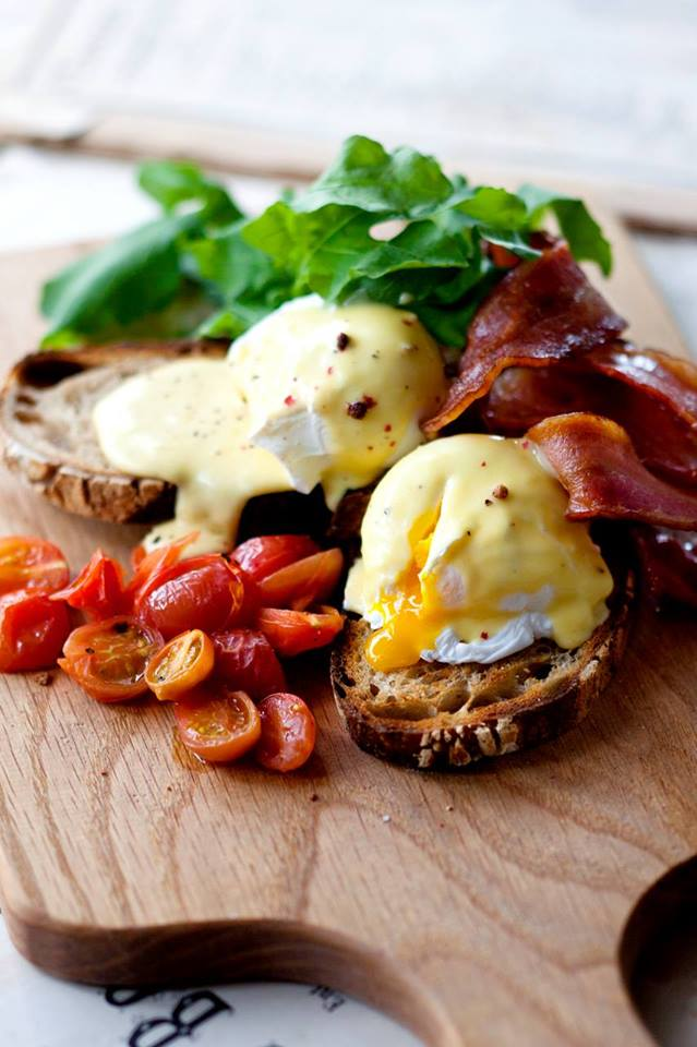 Top Cape Town Eggs Benedict Breakfast larder cafe