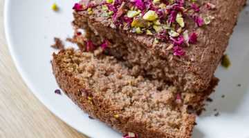 Honey Cinnamon Oat Flour Cake Recipe