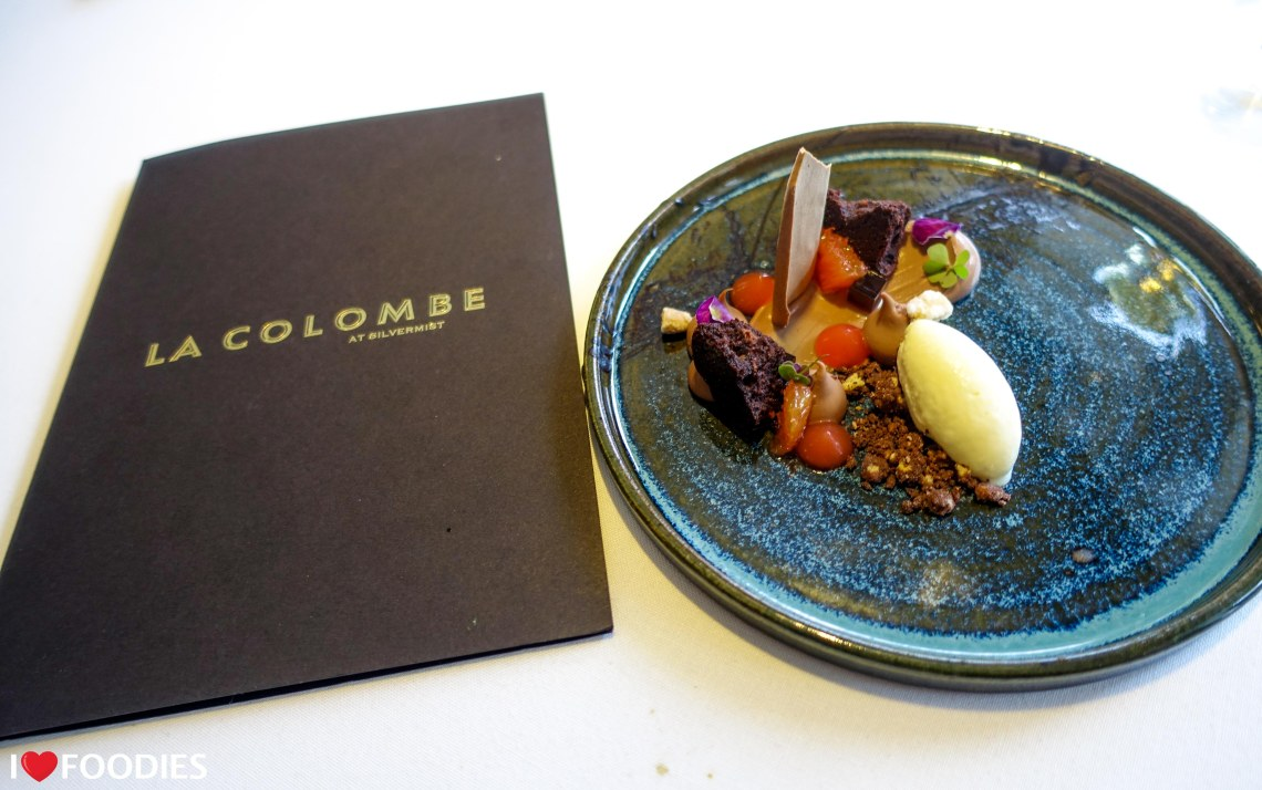 La Colombe chocolate dessert