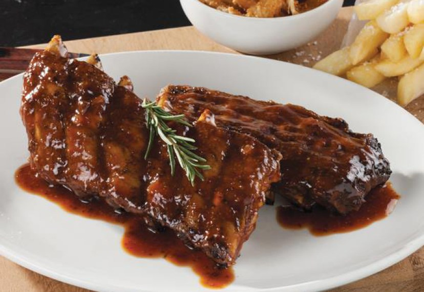 Hussar Grill Camps Bay ribs