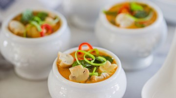 Mushroom Laksa Recipe Presented Dish