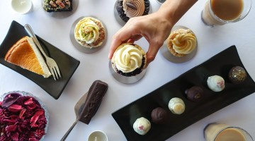 Cape Town's Best Low Carb Treats Guiltless Protein Bakery Salted Caramel Cupcake With Spread Of Treats