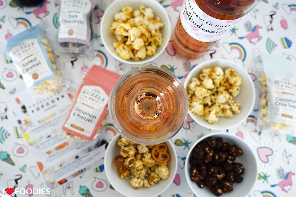 The Stellenbosch Hills Popcorn & Polkadraai Wine Pairing
