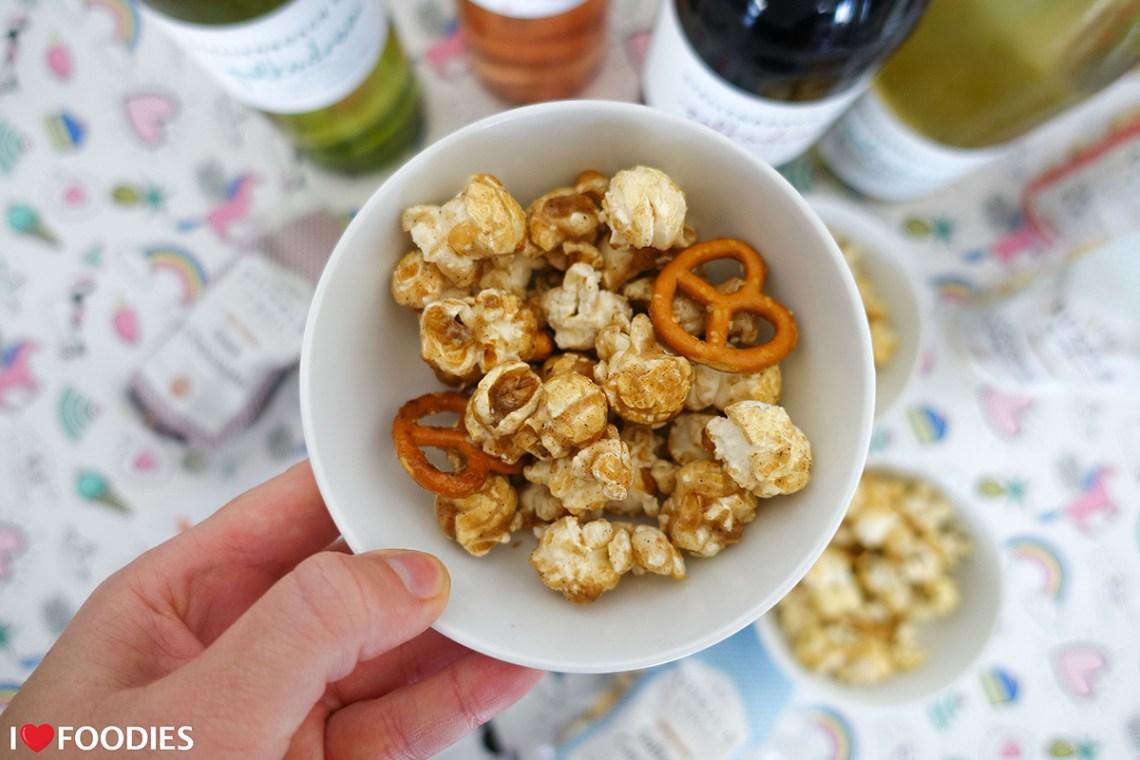 Guzzle And Wolf Cinnamon & Pretzel Popcorn