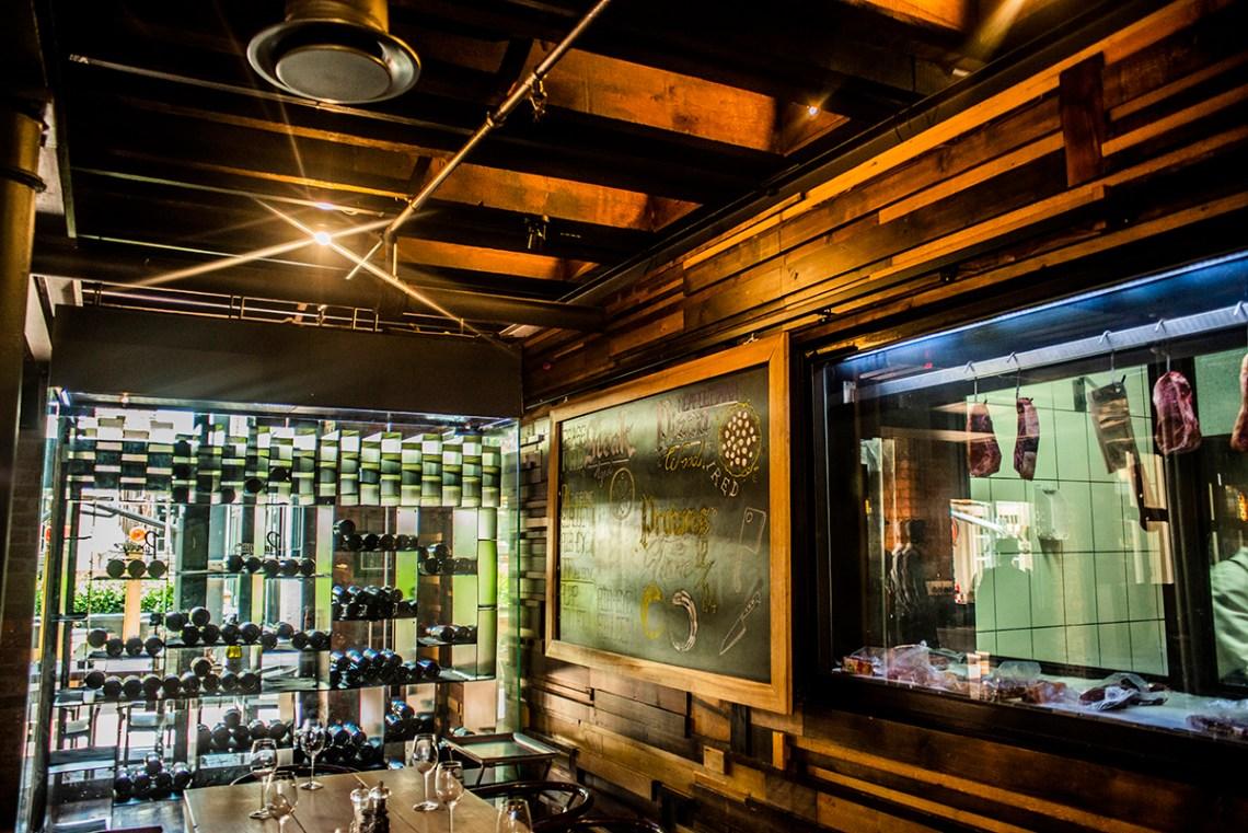 Purveyor Steakhouse & Pizzeria Interior