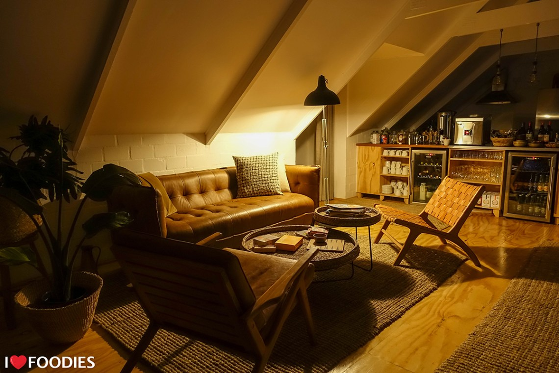 Cosy lounge at Gonana Guesthouse